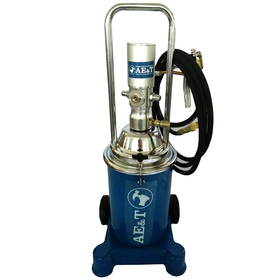 Нагнетатель густой смазки пневматический AE&T HG-68213М, 6-8 бар, 0.85 л/мин Ош