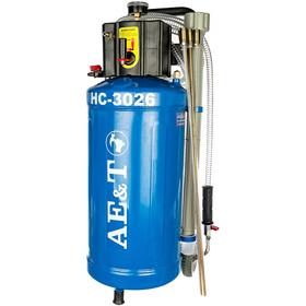 Установка замены масла AE&T HC-3026, 30 л, 6-8 бар, 150-200 л/мин, 6 щупов Ош