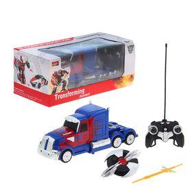 Трансформер на радиоуправлении Optimus Prime, масштаб 1:14