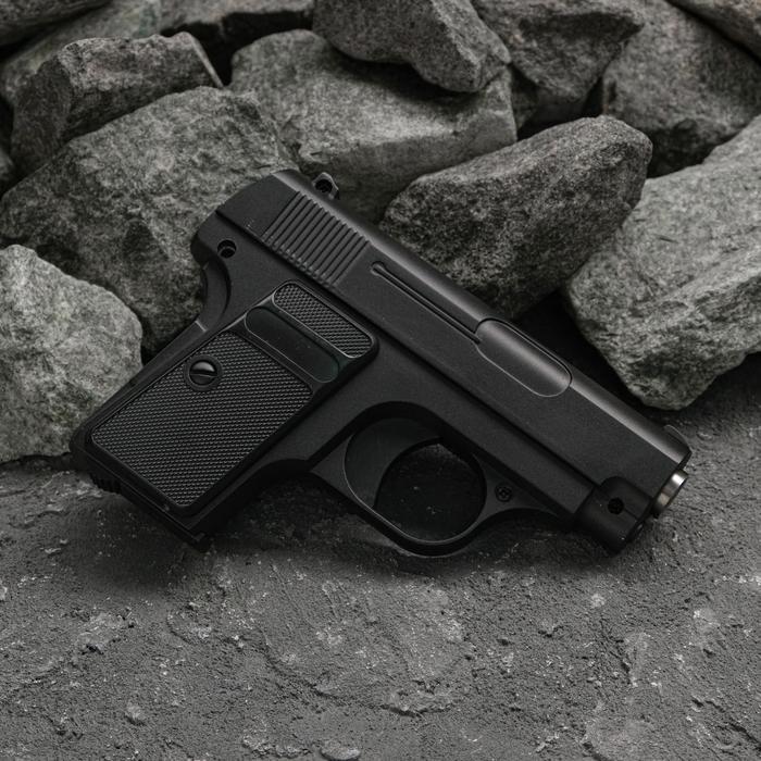 Пистолет пружинный Galaxy Colt 25 G.1, клб 6 мм