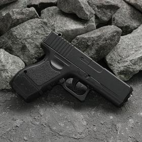Пистолет страйкбольный Galaxy Glock 17 G.16 мини Ош