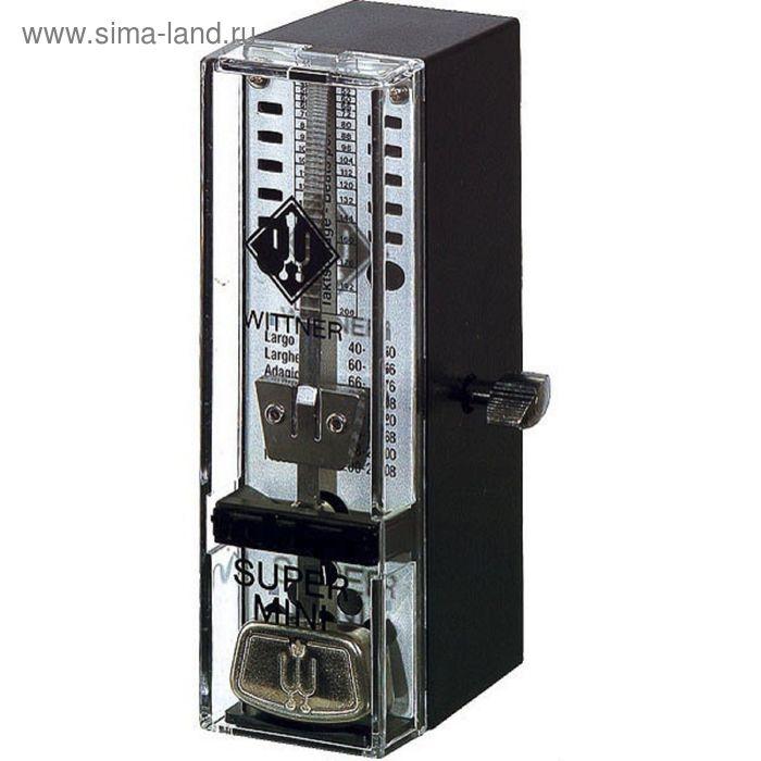 Метроном механический Wittner 886051 TAKTELL SUPER-MINI, пластмассовый корпус, черный