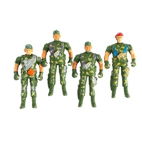 Набор солдатиков «Спецназ», 4 шт. Ош