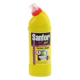 "Гель для сантехники  Sanfor WС ""Лаванда"", 750 мл"