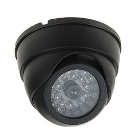 Муляж видеокамеры LuazON VM-4, со светодиодным индикатором, 2хАА (не в компл.), черный Ош