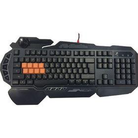Клавиатура A4Tech Bloody B318, игровая, проводная, подсветка, 108 клавиши, USB, чёрная