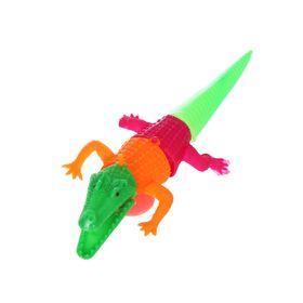 Язычок «Крокодил», на присоске, цвета МИКС Ош