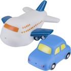 Набор игрушек для ванны «Машинка и самолёт», 2 шт.