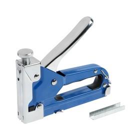 Степлер мебельный TUNDRA, 3 в 1, металлический корпус, типы скоб 140/28/300, 4 - 14 мм