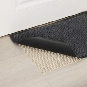 Подложка под ковёр противоскользящая Доляна, 45×90 см, цвет белый Ош