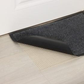 Подложка под ковёр противоскользящая Доляна, 45×150 см, цвет белый Ош
