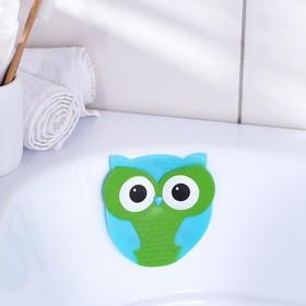 Мини-коврик для ванны «Совушка», 11×11,5 см Ош