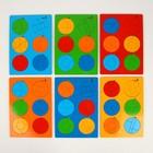 Головоломка логическая «Сложи круг №4», 30 × 21 см, по методике Никитина, МИКС - Фото 3