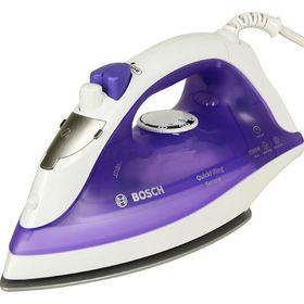 Утюг Bosch TDA2377, 2200 Вт, керамическая подошва, автоотключение, фиолетовый