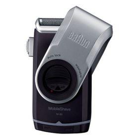 Бритва Braun M90, сеточная, +триммер, чёрно-серебристая
