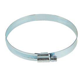 Хомут червячный MGF, диаметр 80-100 мм, ширина ленты 12 мм, оцинкованный Ош