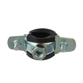 """Хомут для труб с гайкой М8, 1/2"""" диаметр 20-24 мм Ош"""