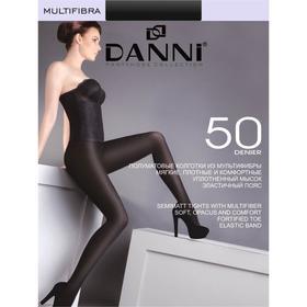 Колготки женские Danni Multifibra 50 черный, р-р 2