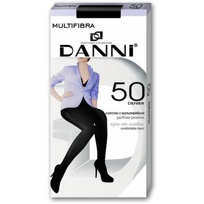 Колготки женские Danni Multifibra 50 капучино, р-р 2