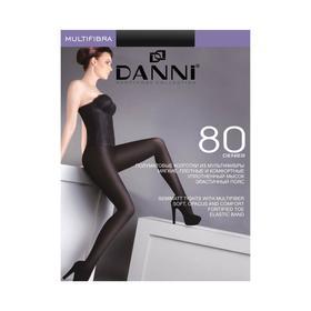 Колготки женские Danni Multifibra 80 черный, р-р 2