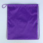 Мешок для обуви Стандарт, 420 х 340, Calligrata, фиолетовый
