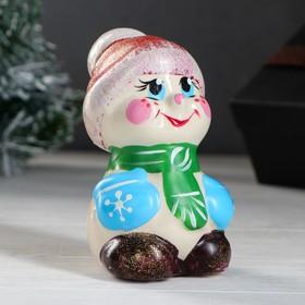 Сувенир 'Снеговик' 12 см Ош