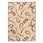 Ковер «Медео», размер 100х150 см, цвет бежевый, войлок
