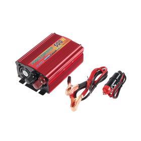 Преобразователь напряжения TP-12-500, 12/220 В, 500 Вт, USB выход Ош