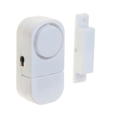 Сигнализация на открывание двери LuazON, мод VM-7, батарейки AG10 в комплекте, белая