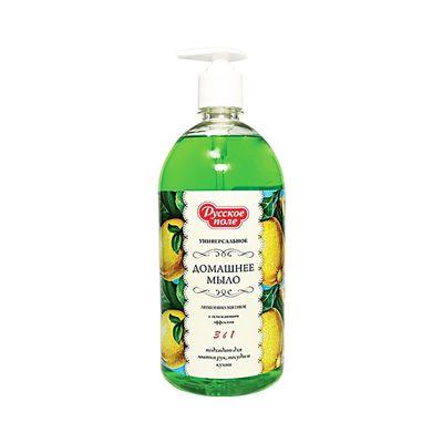 Жидкое мыло Русское поле «Лимонно-мятное», 1 л - Фото 1