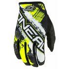 Перчатки кроссовые Jump SHOCKER, чёрно-желтый неон, 2XL