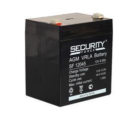 Аккумуляторная батарея Security Force SF 12045, 12 В, 4.5 Ач Ош
