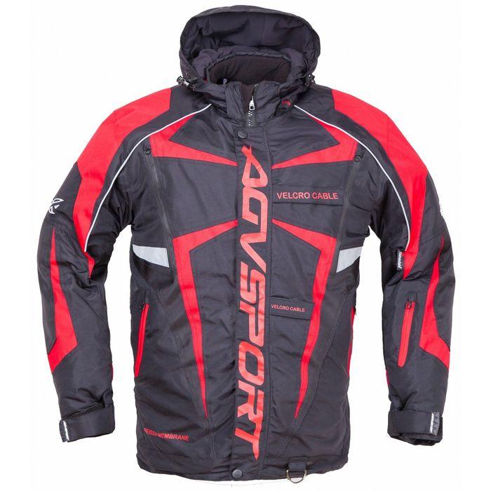 Снегоходная куртка ARCTIC II, размер L, чёрно-красная