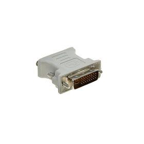 Адаптер Gembird, DVI-A 29(m)-VGA(f), белый Ош