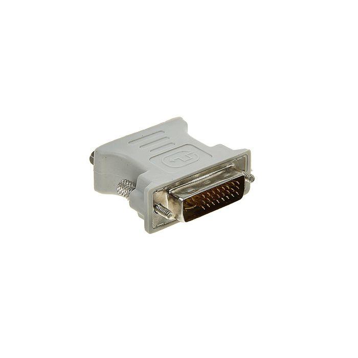 Адаптер Gembird, DVI-A 29(m)-VGA(f), белый