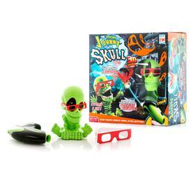 Игрушка Тир проекционный 3D «Джонни-Черепок», с бластером