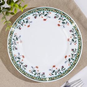 Тарелка десертная Доляна «Винтаж», d=17,5 см