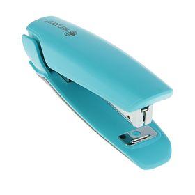 Степлер №10 до 15 листов Nowa-10-Turquoise Blue, стальной механизм, бирюзовый