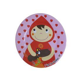 Тарелка Ebulobo «Красная Шапочка»