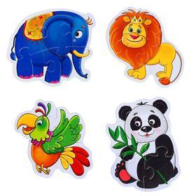 Пазлы мягкие «Зоопарк»