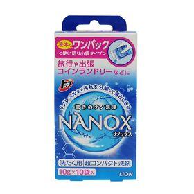 Гель для стирки Lion Top Nanox, 10 г × 10 шт.
