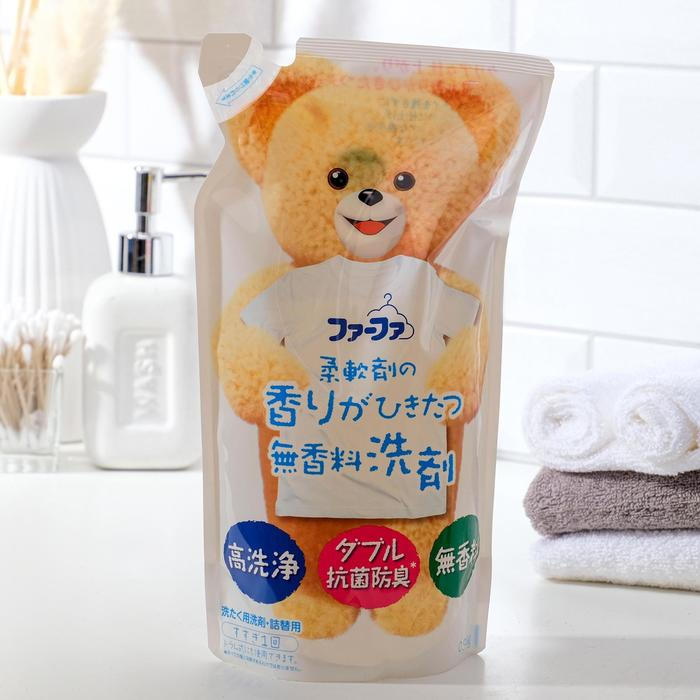 Антибактериальное средство для стирки детского белья NS FaFa Baby Floral, без ароматизаторов, 900 г