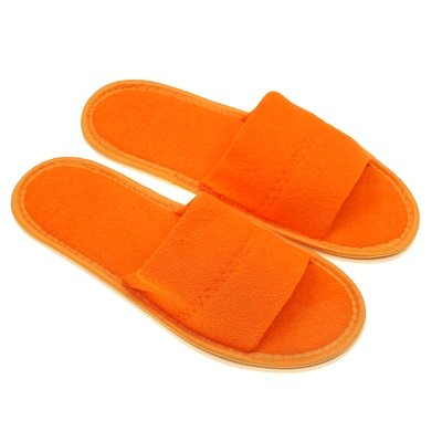 Тапочки женские, цвет персиковый, размер 36-38 - Фото 1