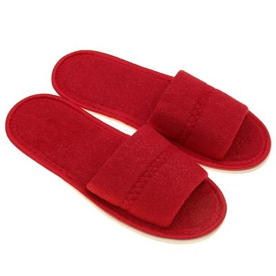 Тапочки женские, цвет бордовый, размер 36-38 - Фото 1