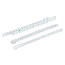 Роликовые направляющие, L=350 мм, до 12 кг, белые, 4 шт. Ош