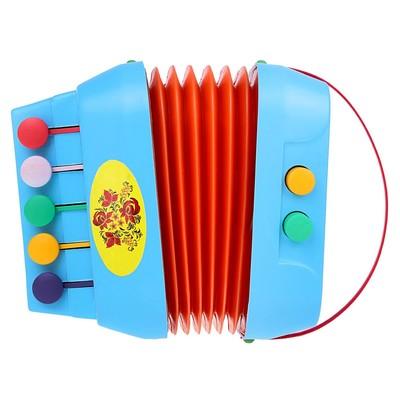 Музыкальная игрушка «Меховая Гармонь» МИКС - Фото 1