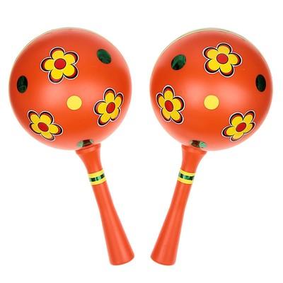 Музыкальная игрушка «Маракас», набор 2 штуки, МИКС - Фото 1