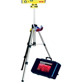 Уровень лазерный MATRIX, 400 мм, 850 мм штатив, 3 глазка, в пласт. Боксе