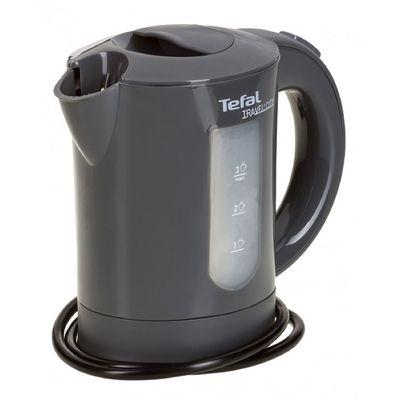 Чайник электрический Tefal KO120В30, пластик, 0.5 л, 650 Вт, серый
