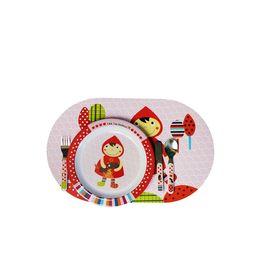 Подложка под посудку Ebulobo «Красная шапочка»
